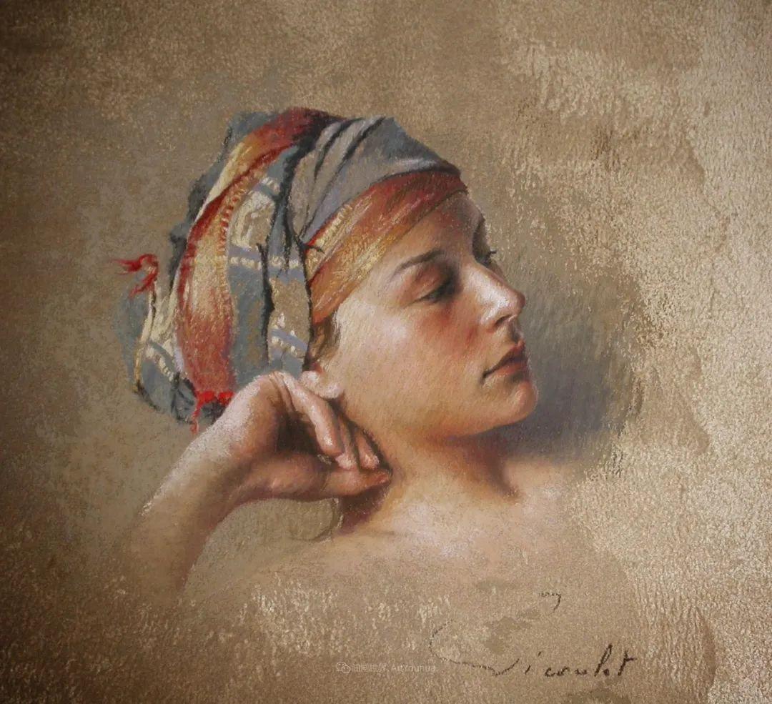 法国女粉彩大师,描绘的女性之美,细腻柔和!插图51