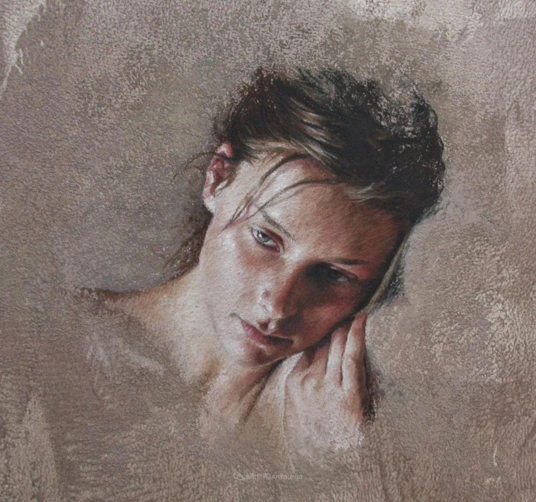 法国女粉彩大师,描绘的女性之美,细腻柔和!插图53