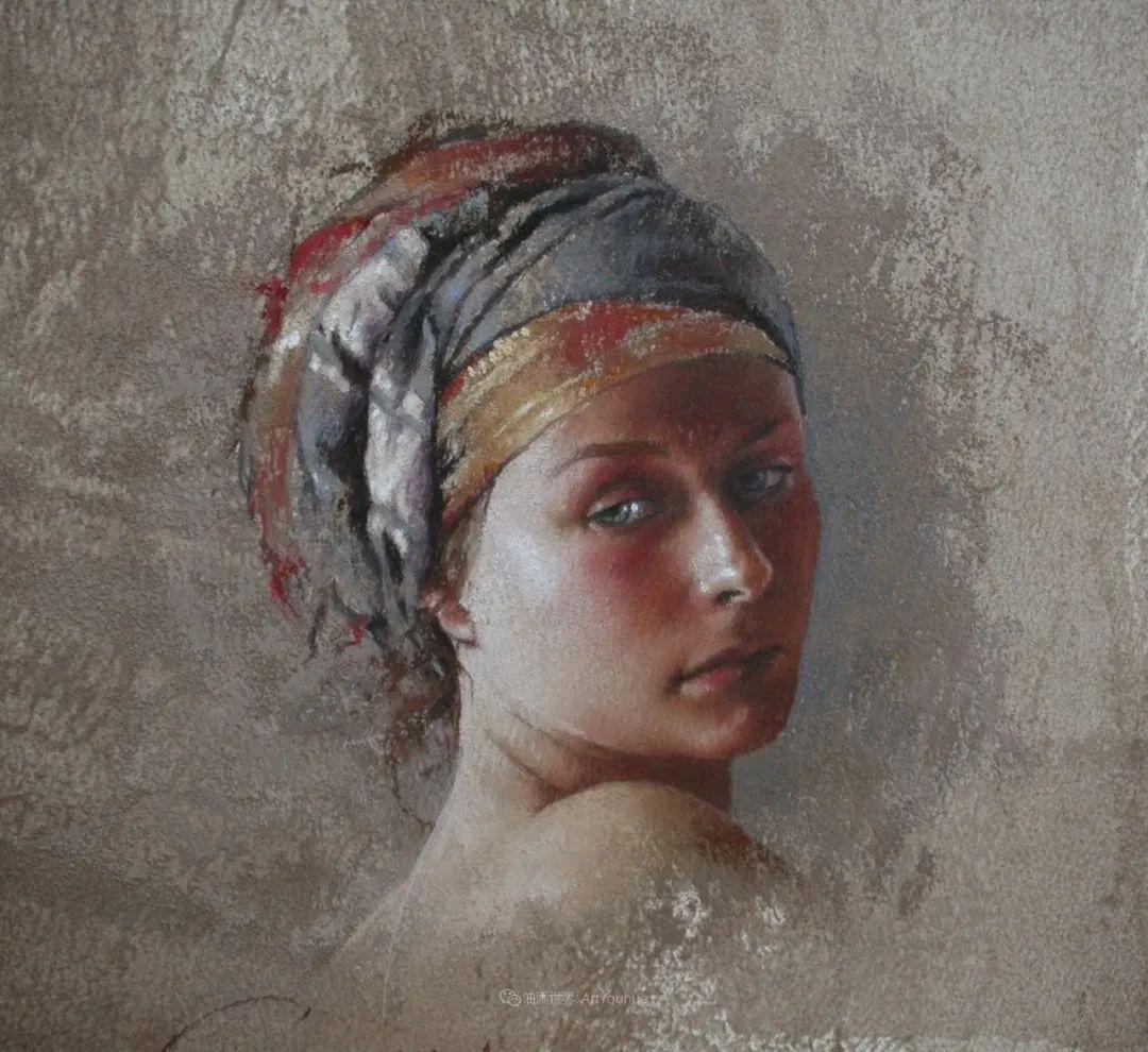 法国女粉彩大师,描绘的女性之美,细腻柔和!插图57