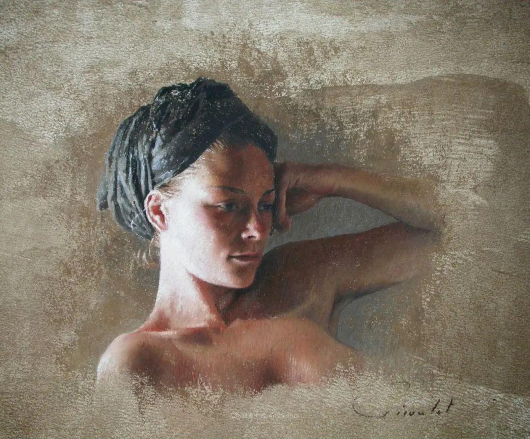 法国女粉彩大师,描绘的女性之美,细腻柔和!插图59