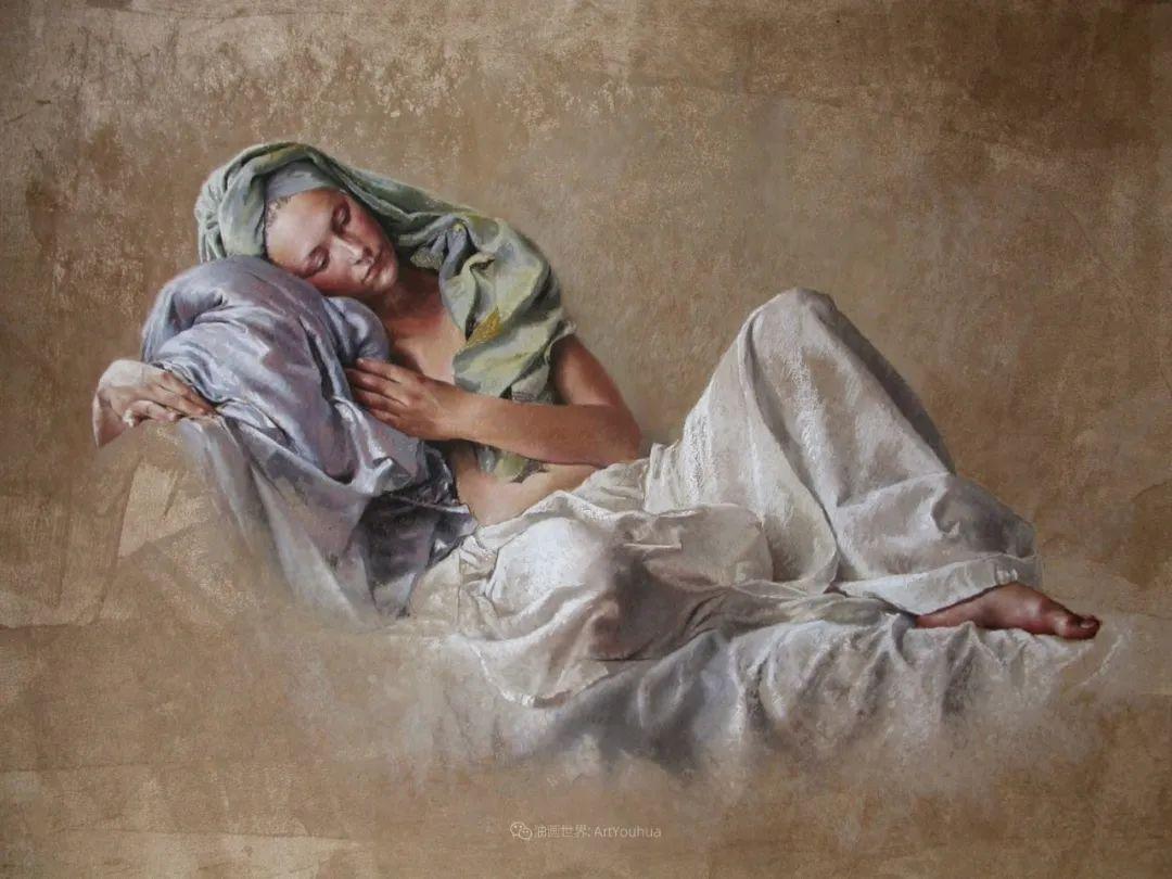 法国女粉彩大师,描绘的女性之美,细腻柔和!插图61