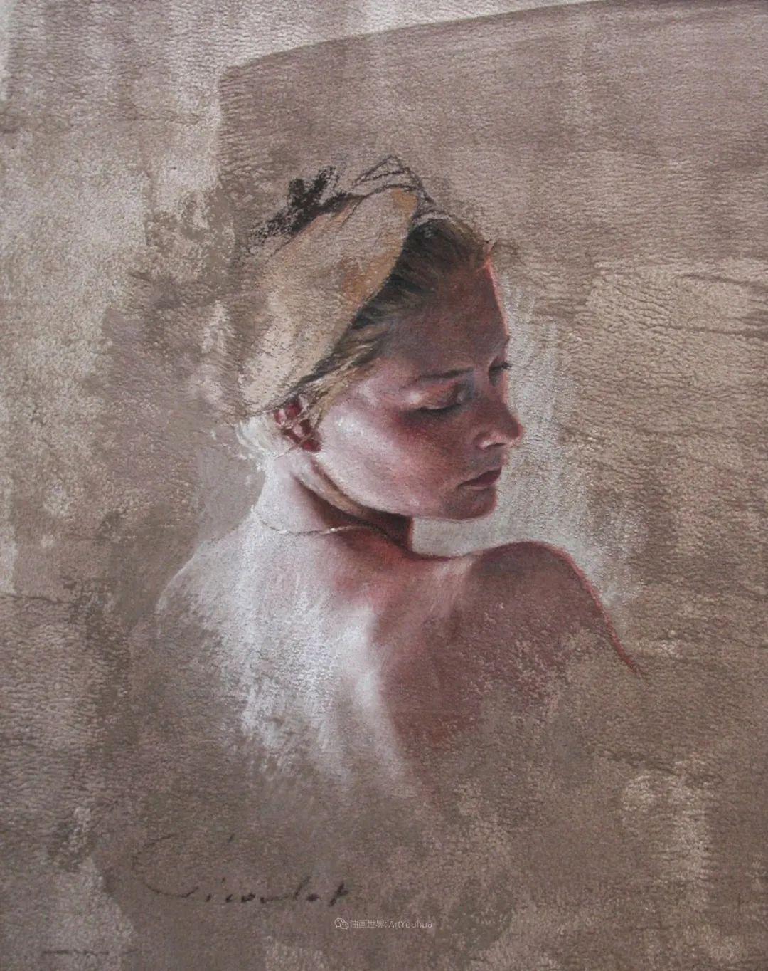 法国女粉彩大师,描绘的女性之美,细腻柔和!插图63