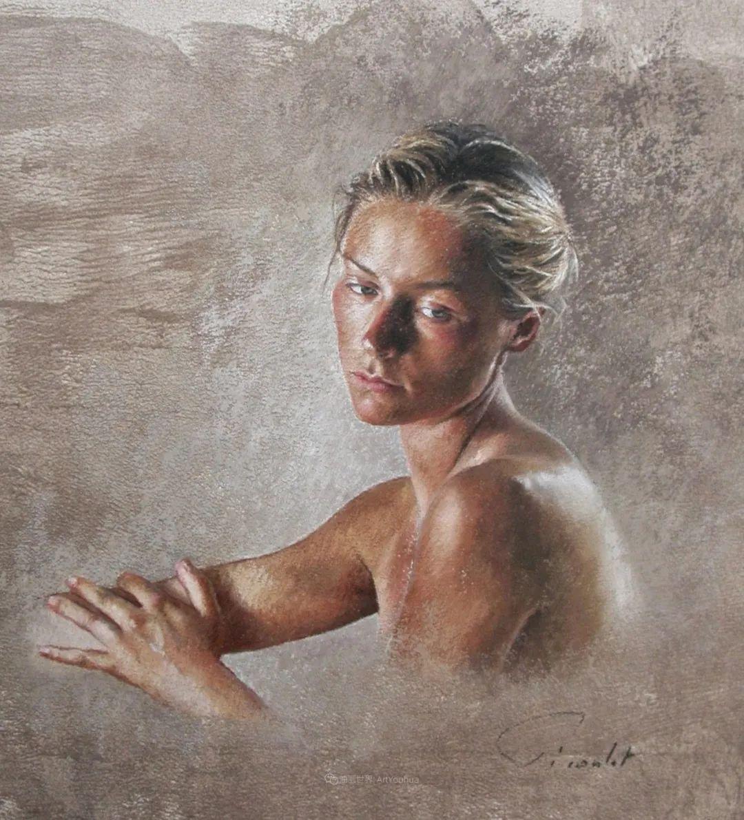 法国女粉彩大师,描绘的女性之美,细腻柔和!插图65