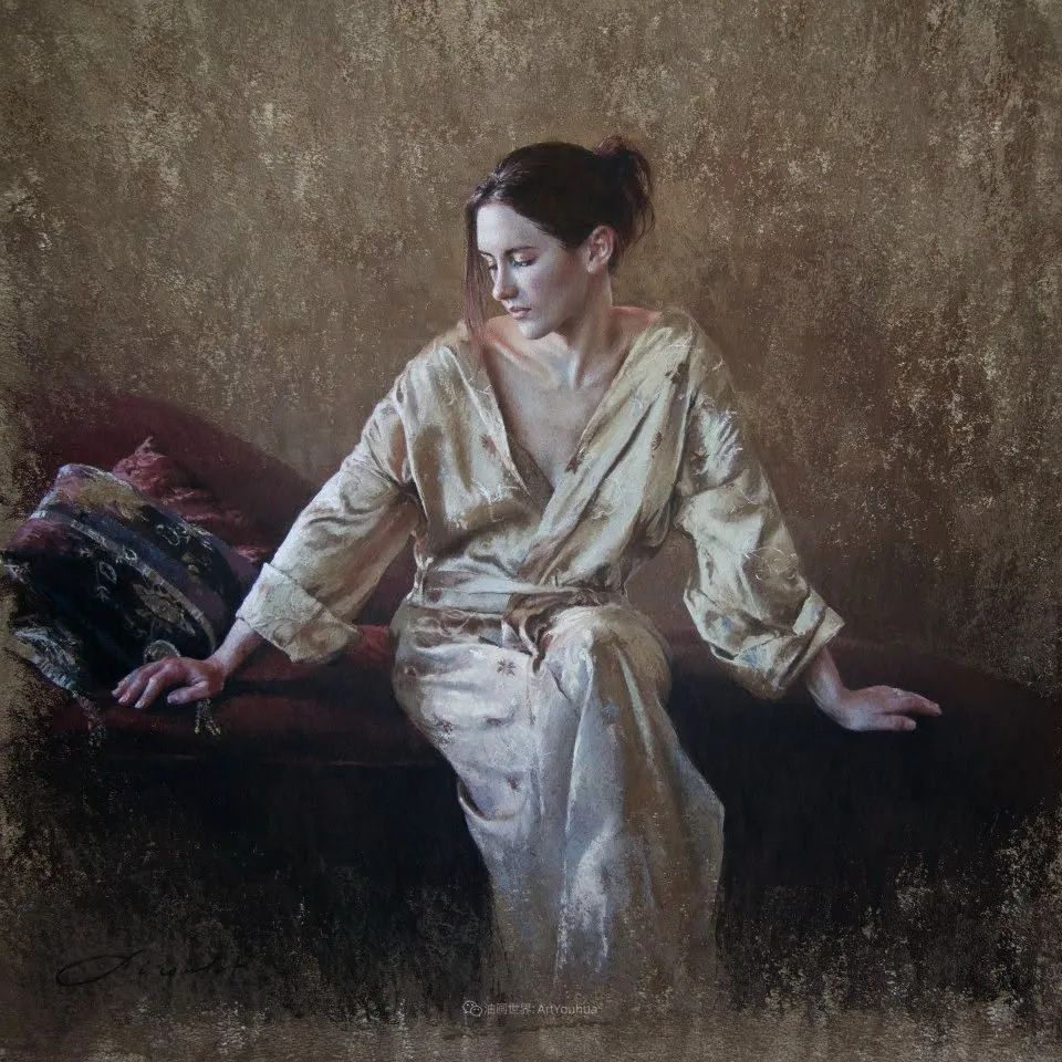 法国女粉彩大师,描绘的女性之美,细腻柔和!插图67