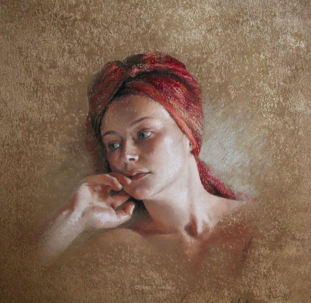 法国女粉彩大师,描绘的女性之美,细腻柔和!插图69