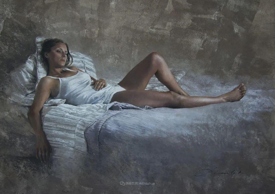 法国女粉彩大师,描绘的女性之美,细腻柔和!插图71