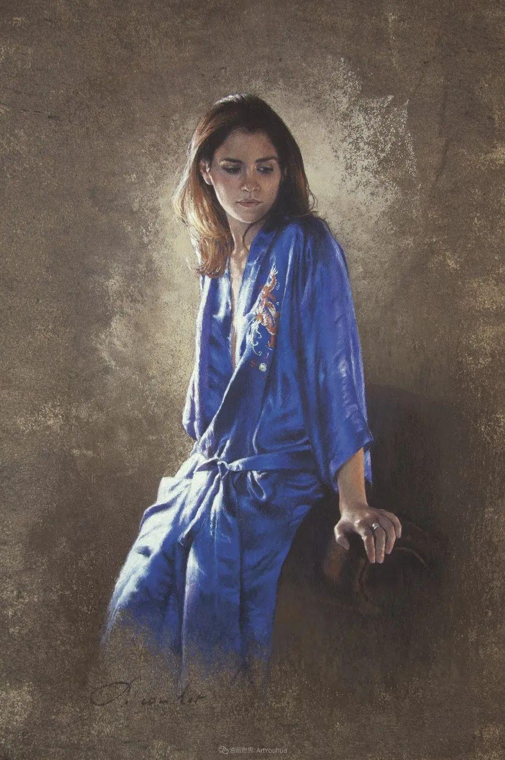 法国女粉彩大师,描绘的女性之美,细腻柔和!插图75