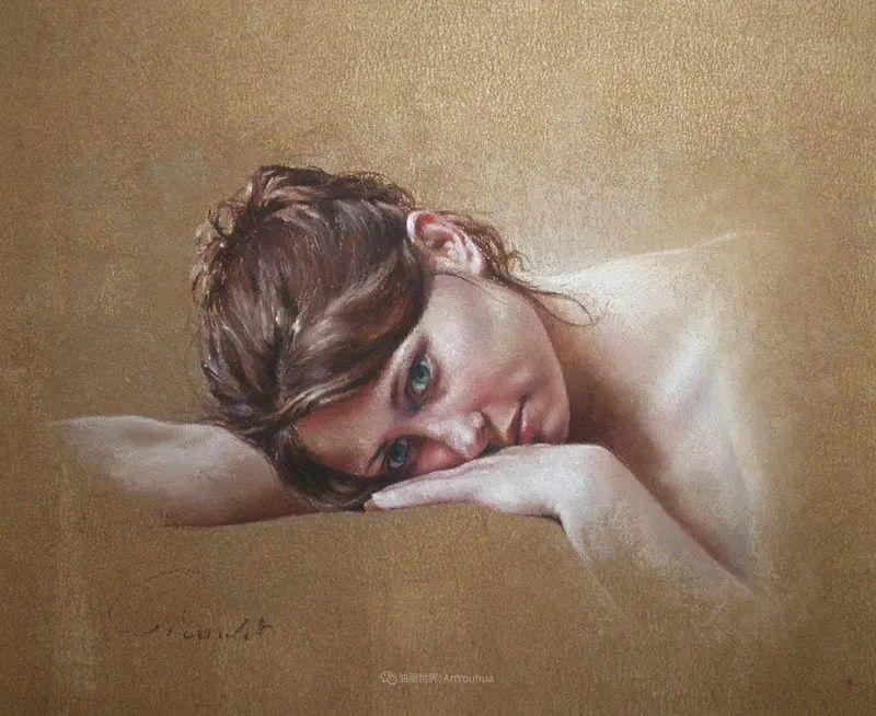法国女粉彩大师,描绘的女性之美,细腻柔和!插图77