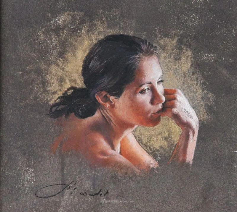 法国女粉彩大师,描绘的女性之美,细腻柔和!插图81