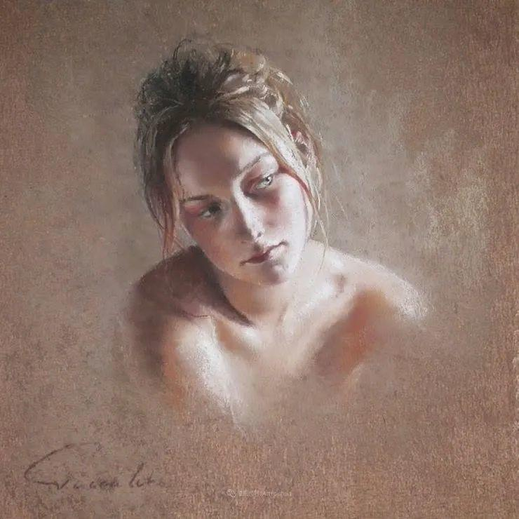 法国女粉彩大师,描绘的女性之美,细腻柔和!插图83