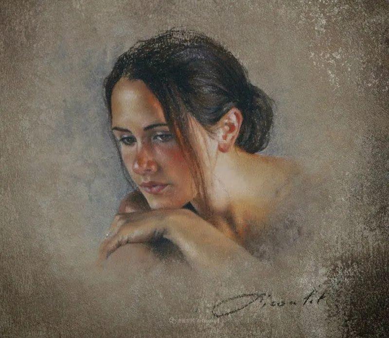 法国女粉彩大师,描绘的女性之美,细腻柔和!插图85
