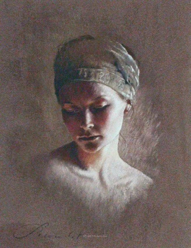法国女粉彩大师,描绘的女性之美,细腻柔和!插图87