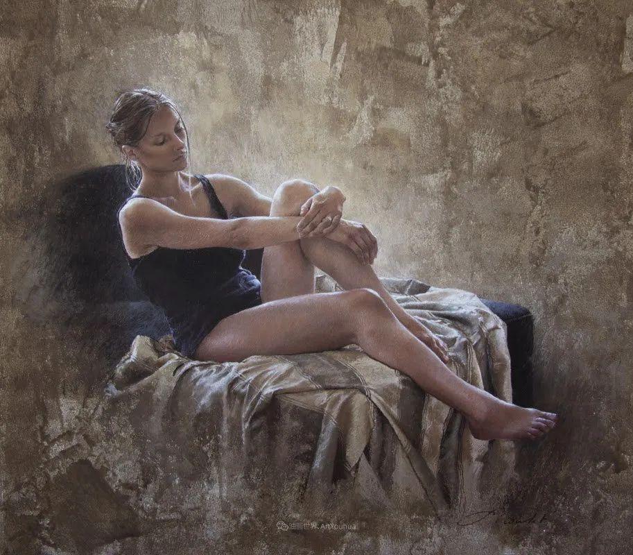 法国女粉彩大师,描绘的女性之美,细腻柔和!插图93