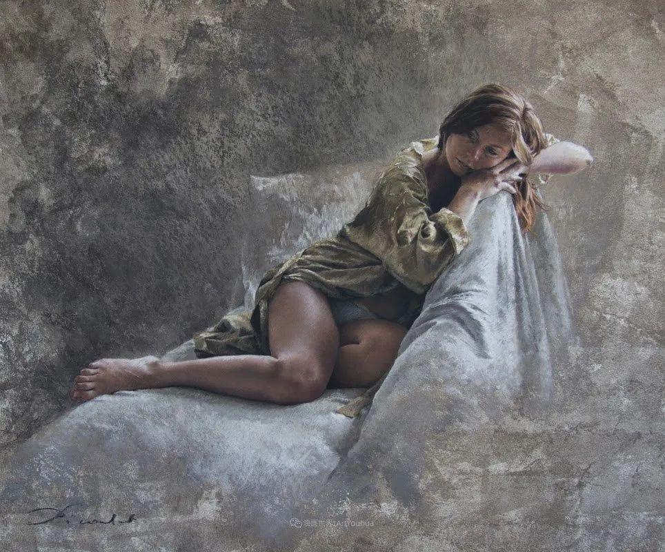 法国女粉彩大师,描绘的女性之美,细腻柔和!插图97