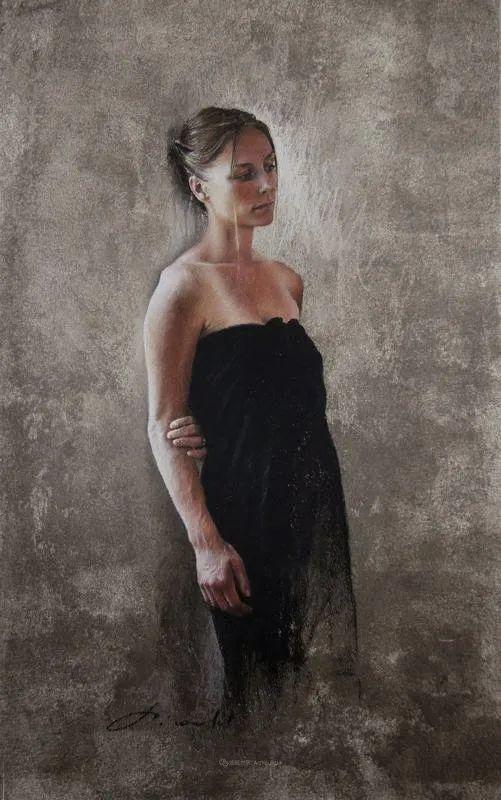 法国女粉彩大师,描绘的女性之美,细腻柔和!插图103