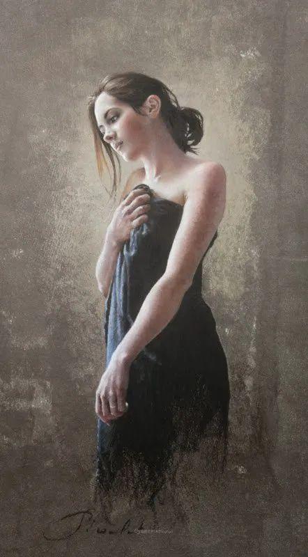 法国女粉彩大师,描绘的女性之美,细腻柔和!插图107