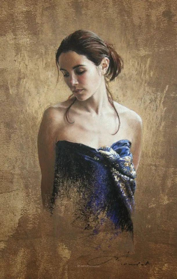 法国女粉彩大师,描绘的女性之美,细腻柔和!插图111