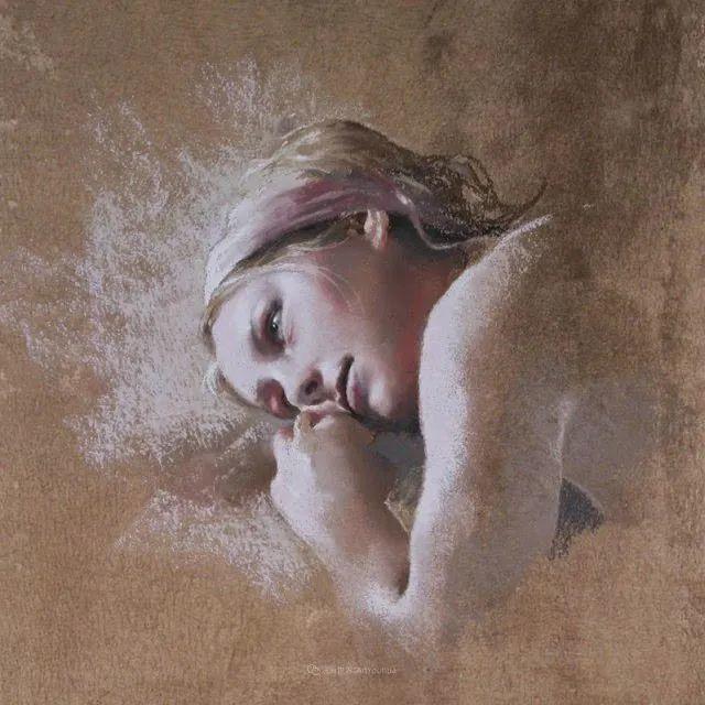 法国女粉彩大师,描绘的女性之美,细腻柔和!插图117
