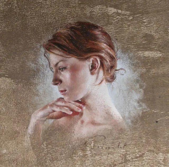 法国女粉彩大师,描绘的女性之美,细腻柔和!插图119