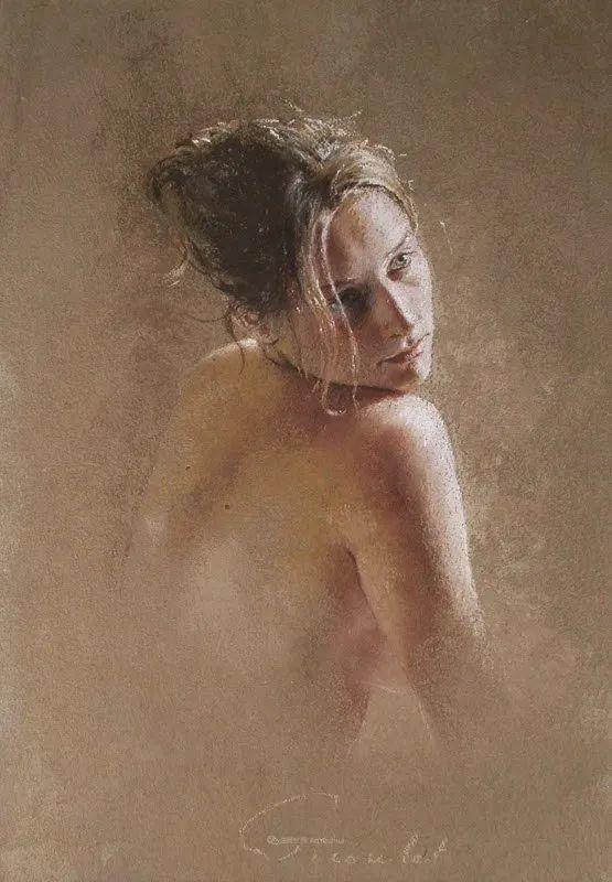 法国女粉彩大师,描绘的女性之美,细腻柔和!插图121