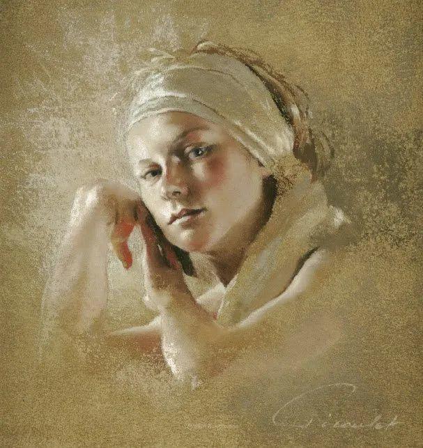 法国女粉彩大师,描绘的女性之美,细腻柔和!插图125
