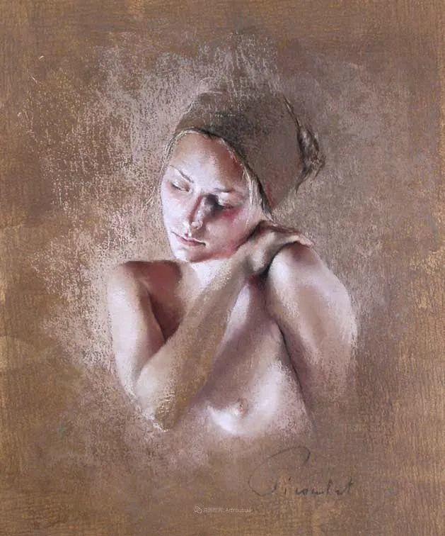 法国女粉彩大师,描绘的女性之美,细腻柔和!插图127