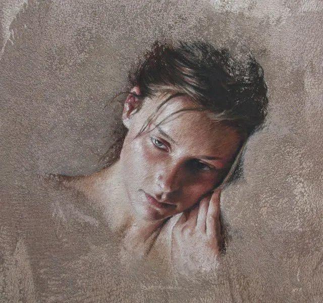 法国女粉彩大师,描绘的女性之美,细腻柔和!插图129