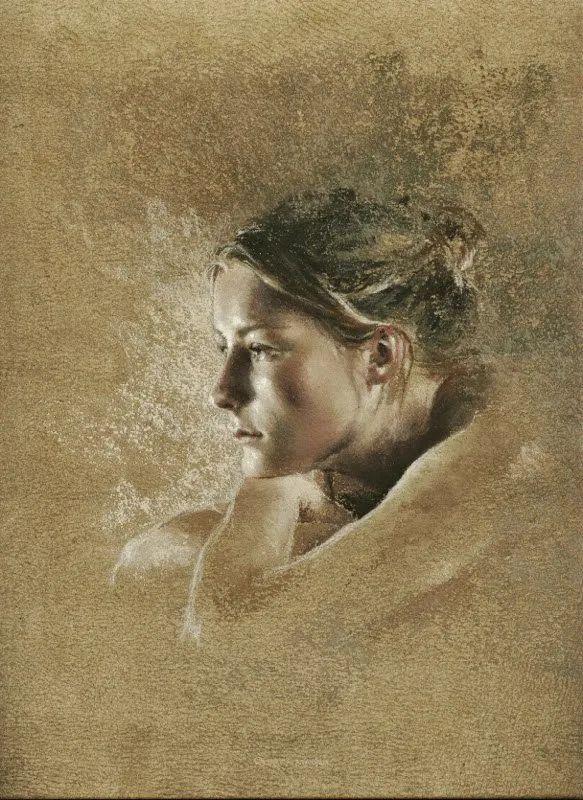 法国女粉彩大师,描绘的女性之美,细腻柔和!插图131