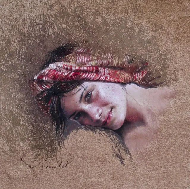 法国女粉彩大师,描绘的女性之美,细腻柔和!插图133