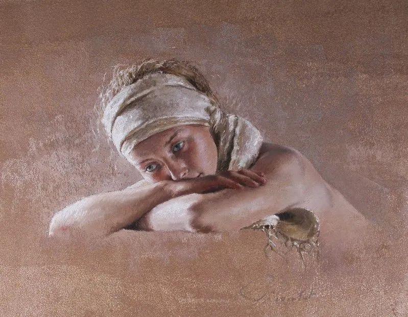 法国女粉彩大师,描绘的女性之美,细腻柔和!插图135