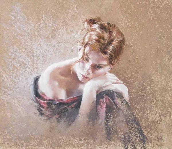 法国女粉彩大师,描绘的女性之美,细腻柔和!插图137