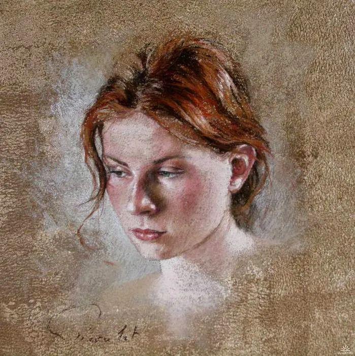 法国女粉彩大师,描绘的女性之美,细腻柔和!插图139