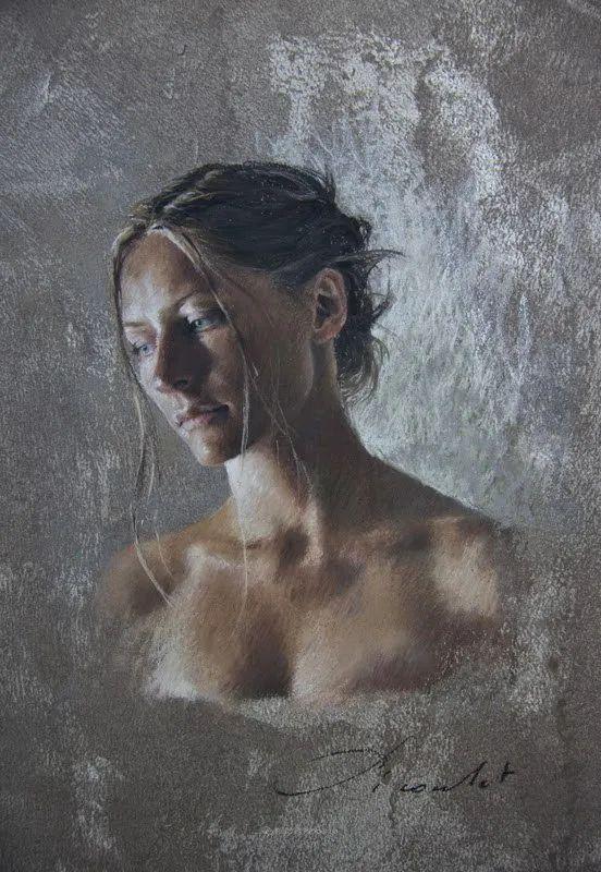 法国女粉彩大师,描绘的女性之美,细腻柔和!插图143