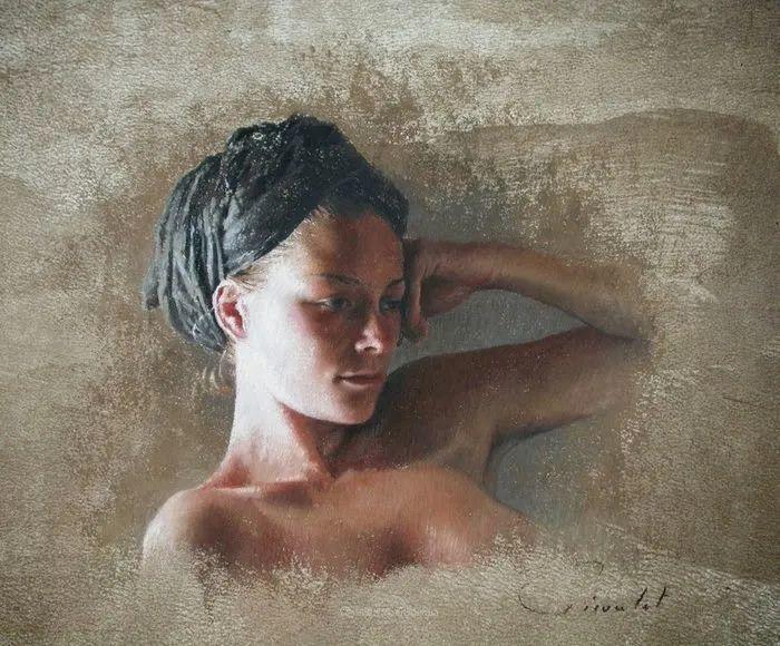法国女粉彩大师,描绘的女性之美,细腻柔和!插图145