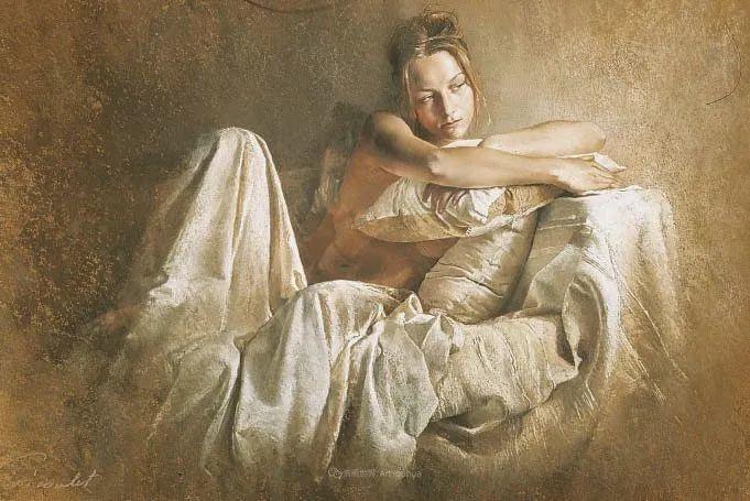 法国女粉彩大师,描绘的女性之美,细腻柔和!插图147