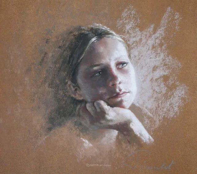 法国女粉彩大师,描绘的女性之美,细腻柔和!插图153