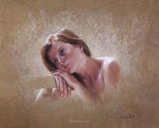 法国女粉彩大师,描绘的女性之美,细腻柔和!插图155