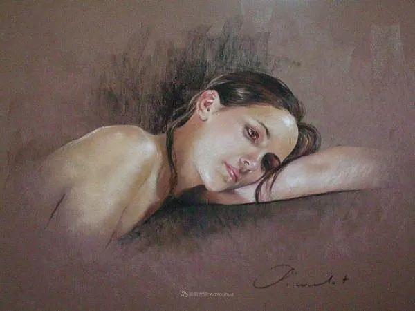 法国女粉彩大师,描绘的女性之美,细腻柔和!插图157