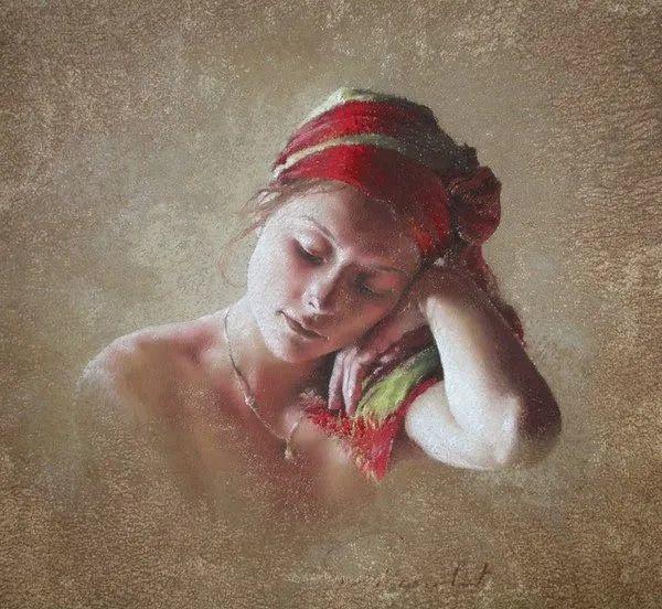 法国女粉彩大师,描绘的女性之美,细腻柔和!插图159