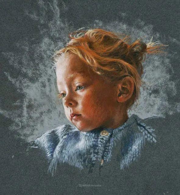 法国女粉彩大师,描绘的女性之美,细腻柔和!插图161