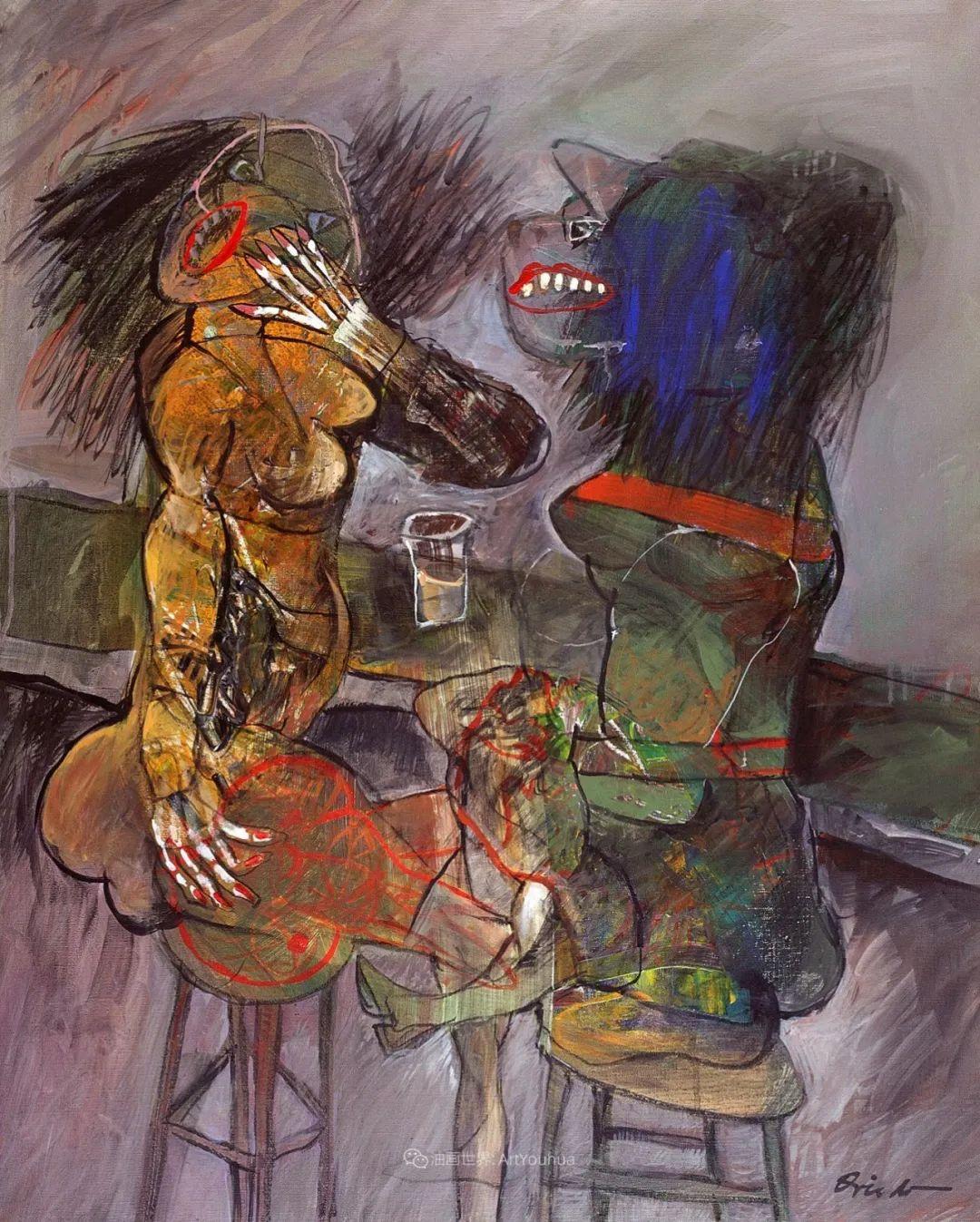 强烈的笔触和色彩,表现出韧性、肮脏及人性插图9
