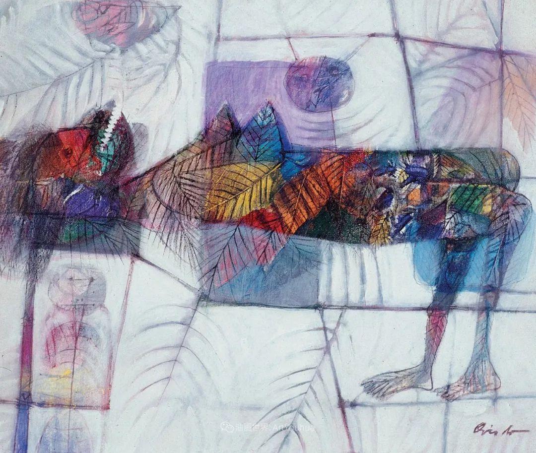 强烈的笔触和色彩,表现出韧性、肮脏及人性插图15