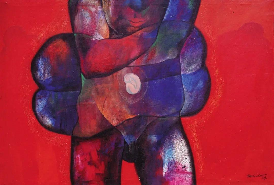 强烈的笔触和色彩,表现出韧性、肮脏及人性插图23