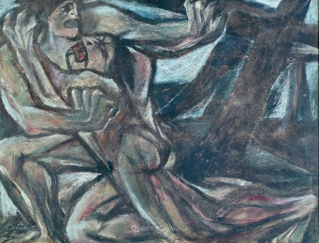 强烈的笔触和色彩,表现出韧性、肮脏及人性插图61