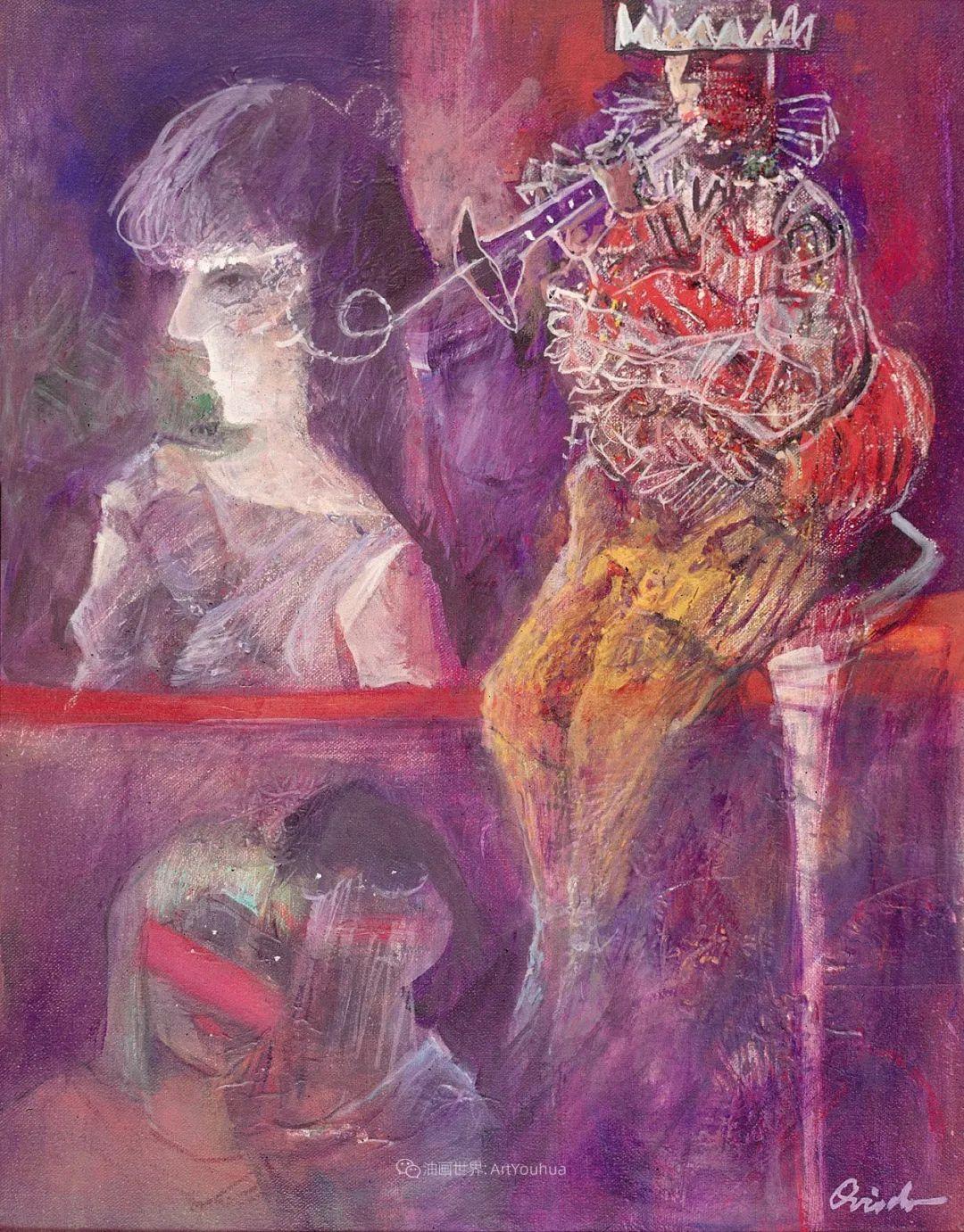 强烈的笔触和色彩,表现出韧性、肮脏及人性插图77