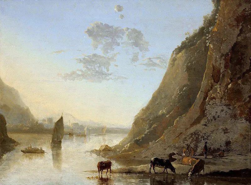 他的画,有些牛!17世纪荷兰黄金时期杰出的风景画家插图23