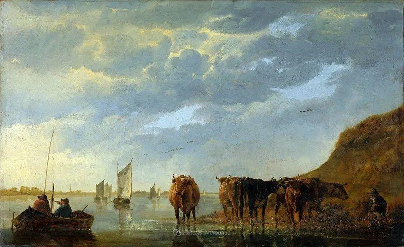他的画,有些牛!17世纪荷兰黄金时期杰出的风景画家插图25