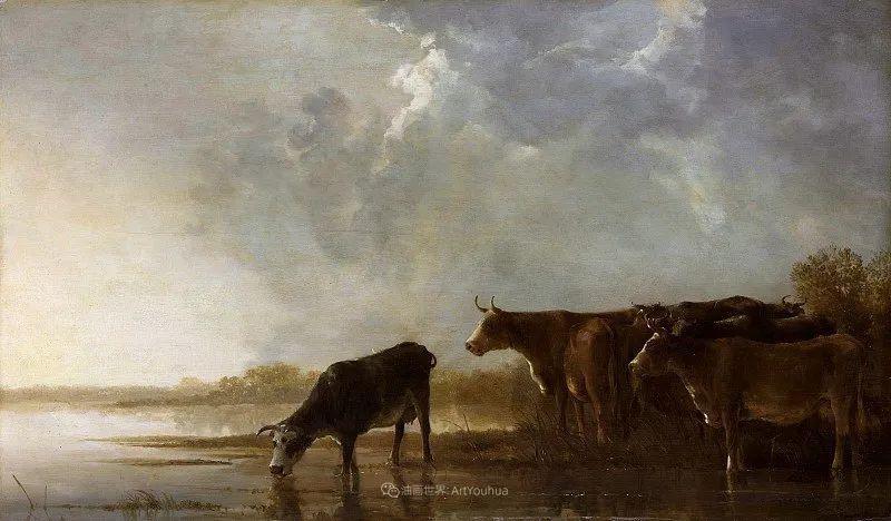 他的画,有些牛!17世纪荷兰黄金时期杰出的风景画家插图31