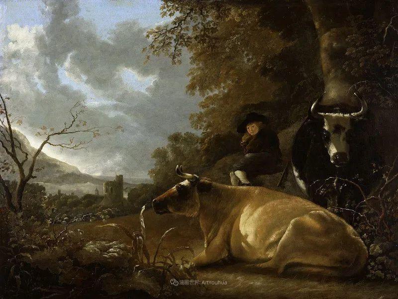 他的画,有些牛!17世纪荷兰黄金时期杰出的风景画家插图37