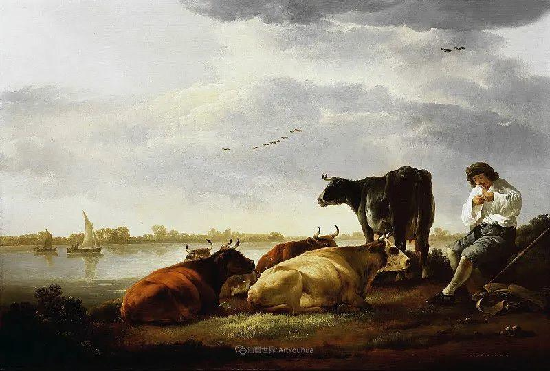 他的画,有些牛!17世纪荷兰黄金时期杰出的风景画家插图43